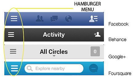 hamburger menu example 1