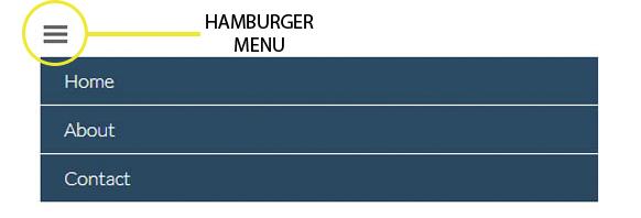 hamburger menu example 2