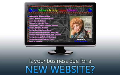 is your business due for a new website