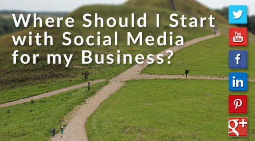 where should i start with social media