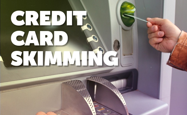 credit card skimming