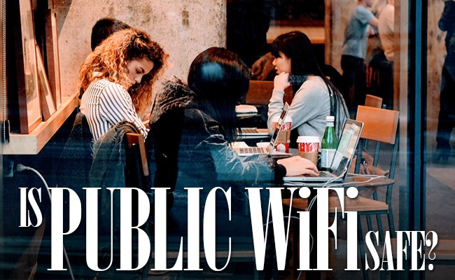 is public wifi safe