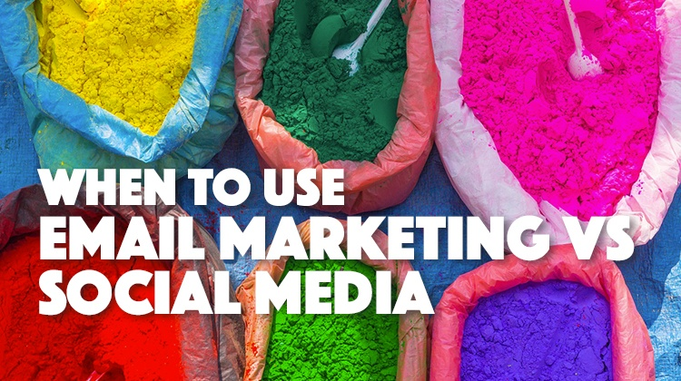 email marketing vs social media