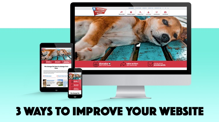 3 ways to improve your website