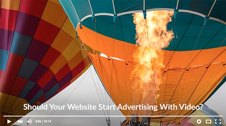 Should Your Website Start Advertising with Video?