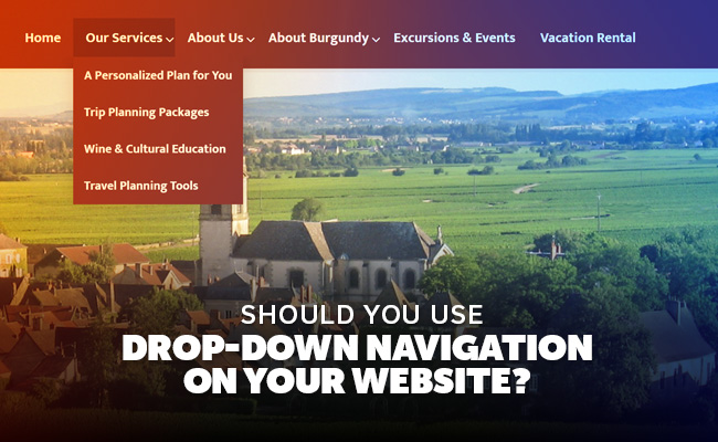 drop-down-navigation